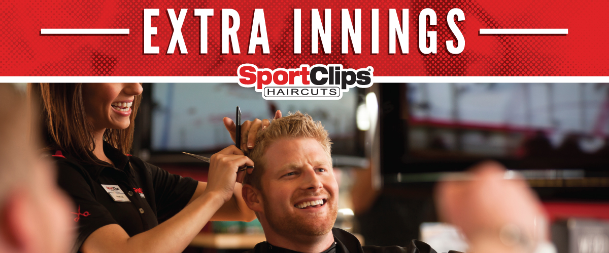 The Sport Clips Haircuts of Shepherd Square Extra Innings Offerings