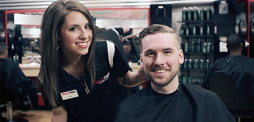 Sport Clips Haircuts of Shepherd Square​ stylist hair cut